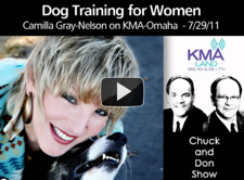 Thumbnail image for Camilla on Dog Training for Women – KMA Omaha