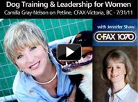 Thumbnail image for Camilla on CFAX Radio Petline