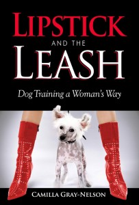 image lipstick and the leash book cover by author camilla gray-nelson